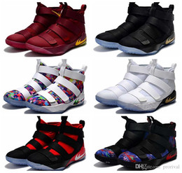 Wholesale Gold Soldier - 2017 Cheap Limited Edition Soldiers 11 Basketball Shoes For Men High Quality Man-at-arms XI Soldier 11s Mens Sports Training Sneakers