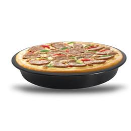 Plateau de carbone en Ligne-Outils de cuisson Poêle antiadhésive en acier au carbone de haute qualité. Poêle à pizza pour ménage.