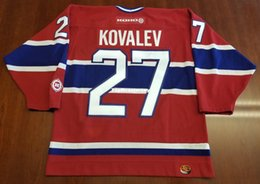 4de1a1b9b94 Wholesale Alex Kovalev Vintage Montreal Canadiens Koho Cheap Hockey Jersey  Red Habs Mens Retro Jerseys