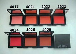 Wholesale Easy N - 1pcs Hot New Bronzer Makeup Powder Blush N BLUSH FARD JOUE POUDRE 7 Colors 4.8G