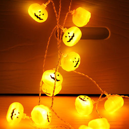 celebrar o natal Desconto Lâmpadas Pary Comemorar festival LEVOU cordas Luz de Natal LEVOU Luz de Tira Alto Brilho estilo de moda abóbora forma