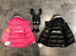 2019 giacca di usura invernale dei ragazzi 95% Doppio da indossare piumini Piumino invernale da parka per ragazze, ragazzi, cappotti, abbigliamento per bambini, abbigliamento bambino, capospalla, cappotto giacca di usura invernale dei ragazzi economici