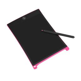 VBESTLIFE Portátil 8.5 Pulgadas Digital Mini LCD Pantalla de Escritura Tableta Tablero de Dibujo para Adultos Niños Niños + Touch Pen Envío Gratis desde fabricantes
