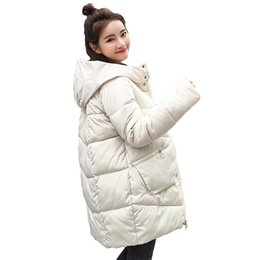 27af5d682f5 2019 Thick Warm Hooded Long Down Parkas Women Down Jacket Winter Coat  Cotton Padded Jacket Woman Winter Jacket Coat Female New 2018