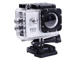 Wholesale outdoor video cameras - Detonating outdoor sports camera, 1080P waterproof movement, video camera, diving limit DV, driving record,Action Video Cameras,special DV