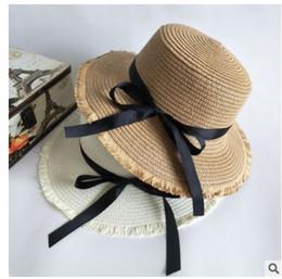 sombrero de paja mujer flor Rebajas Sombreros de verano para mujer Sombrero  de sol Cadena de 7e91e74cf67