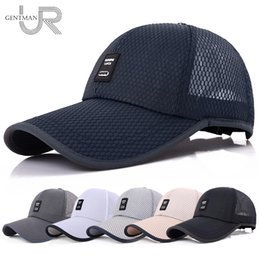 2018 Unisex Sports Cap para mujer para hombre casquillo ocasional para la  pesca Béisbol al aire libre Visera larga Mesh papá sombrero sombrilla  sombreros ... 99e429054a5