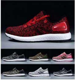Wholesale Ii Online - Pure Boost 2.0 II Sports Shoes Men Women Pureboost Running Shoes Pure Boost Trainer Sneaker shoes EUR 36-45 cheap online