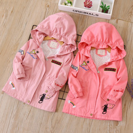 Girls' Clothing 2019 New Fashion Girl Boy Kids Pu Jacket Spring Autumn Jackets Coats Girls Children Casual Wear Overcoat 3color Selling Well All Over The World