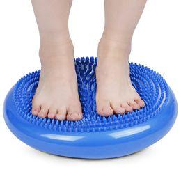 1pcs tapis gonflable de massage de coussin d équilibre de disque d équilibre  de stabilité de Wobble de yoga F coussin de stabilité pas cher 708f190bd4b