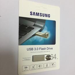 Wholesale memory read - USB3.0 Flash Drive Disk 128GB 64GB 32GB BAR External Storage Pen Drive Memory Pen Drive Memory Usb Stick MAX read 130m s