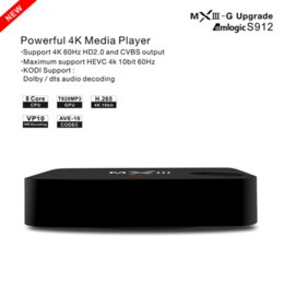 Deutschland MXIII MX3 Android iptv 4 k tv box Quad Core Amlogic S812 2 GB / 8 GB Android 4.4 Wifi h.265 3D-Streaming Media Player Versorgung