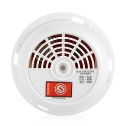 Argentina 70db detector de sensor de advertencia de alarma de fugas de gas natural herramienta de seguridad para el hogar con luz indicadora cheap alarm warning lights Suministro