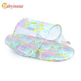 Wholesale Amazing Baby - Hot Product Amazing Summer Baby Infants Insect Netting Portable Baby Bed Crib Folding Mosquito Net Infant Crib Netting