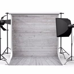 Wholesale Photography Background Wall Prop - 5x7ft Wood Wall Floor Studio Prop Photography Vinyl Background Photo Backdrop Best Price