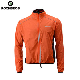 2019 NEW ROCKBROS Running Jacket Windproof Vest Cycling Sports Raincoat Jersey  Hiking Rainproof UV Protection Quick Dry Coat Winter Men fbd2acc6a