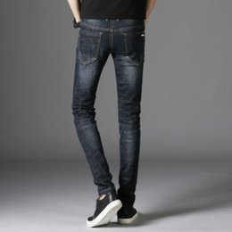 49bb2f2d804 Cotton Jean Pants Vintage Cool Trousers for Guys 2018 Summer Europe America  Style B009