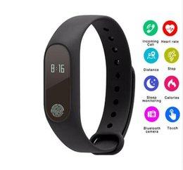 pulseira de fitness baratos Desconto barato Inteligente pulseira Pulseira Bluetooth Inteligente Monitor de Freqüência Cardíaca Banda Inteligente Rastreador De Fitness Pedômetro Pulseira para Android IOS