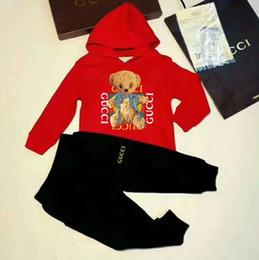 005863a032f7d Venta caliente estilo clásico Chi2018 nuevo para niños y niñas traje  deportivo clásico bebé infantil de manga corta ropa niños