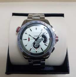 Wholesale Men Luxury Automatic Watch Replicas - Replica Top Brand Luxury Watch Men Sports Wristwatches Automatic Mechanical Hand Winding Watch CARRERA Military Watch Stainless steel strap