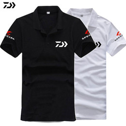 5e6c1a023f9f 2018 DAIWA Fishing Clothing Breathable Anti UV Sun Protection Short Sleeve Quick  Drying Clothes Summer Speicial Fishing T Shirt