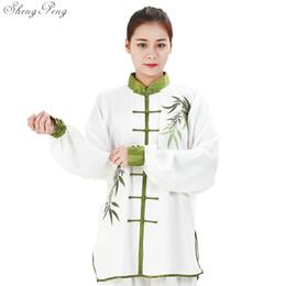 Uniforme de mujer de tai chi online-Tai chi ropa tai chi uniforme ropa mujeres kung fu ropa uniforme de kung fu wushu wing chun Q106