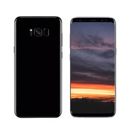 Wholesale Qualcomm Gps - Unlocked Goophone S8 Plus 6.2inch Full Screen Fingerprint Qualcomm Snapdragon 835 Show 64GB Show 4G lte 1280*720 3G SmartPhone