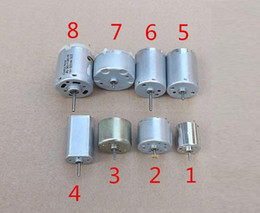 Wholesale First Class Sets - 8PCS Mix Set 3-14VDC 020 370 310 180 365 DC Motor with Large Torque Motor First-class Quality and Long Life,Very Quiet