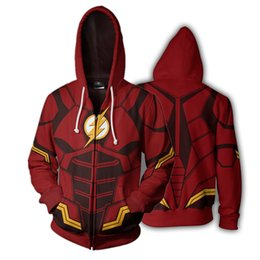 9852402d DC Hero вспышка полный Zip тонкий толстовки прохладный пуловер пальто  куртка мужская перемычка толстовка supplier jacket dc
