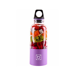 faca espiral Desconto 500 ml Elétrica Juicer Cup Mini Portátil USB Recarregável Juicer Blender Maker Shaker Squeezers Suco De Laranja De Frutas Extrator