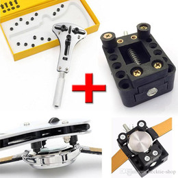 Wholesale Watch Holder Tool - Best Promotion 55mm Large Waterproof Watch Back Case Opener Wrench Remover Adjustable Case Holder Watch repair tool