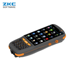 handheld terminals Coupons - ZKC PDA3503S GSM GPRS 3G 4G WiFi Bluetooth Android Industrial Wireless Mobile Handheld Bus 2D Qr code PDA Scanner Kiosk Terminal