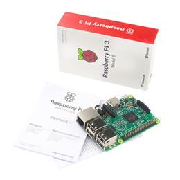 Ahududu Pi 3 Model B ARM Cortex-A53 CPU 1.2 GHz 64-Bit Dört Çekirdekli 1 GB RAM 10 Kez B + nereden sd kart sürümleri tedarikçiler