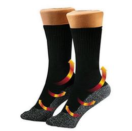 35 Calzini sottostanti Mantieni i tuoi piedi Calde e asciutte Fibre alluminate Calzini Thermo Socks Pacchetto busta OPP 200 paia OOA4338 da