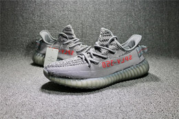 Wholesale Fluorescent Shoe Laces - Kanye West Blue Tint B37571 SPLY-350 V2 Boost Season 3 Running Shoes for men BELUGA 2.0 Fluorescent green Yebra Boost 350 v2 Sneakers Shoes