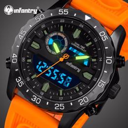c3a3bee4323 2019 assiste a infantaria INFANTARIA Relógio Dos Homens do Esporte Tático  Relógio de Pulso Dos Homens