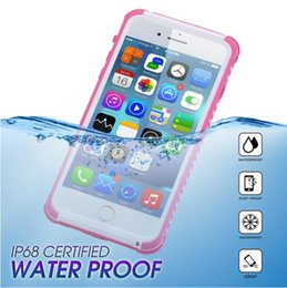 Wholesale Life Cell Phone Cover - Newest Life Waterproof cell phone case for iPhone 6 6S Dual purpose full protector case iPhone Hard Cover