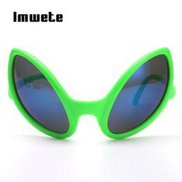 86d8c88e05 Imwete Funny Alien Eyes Sunglasses Men Women Costume Mask Novelty Glasses  Party Supplies Decoration Gift Funny Glasses Ladies