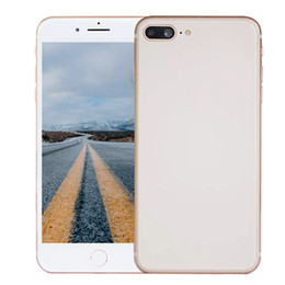 "Wholesale Real Goophone - Goophone i8 Plus Real Fingerprint Quad Core MTK6580 1GB RAM 8GB ROM 1280*720 5.5"" 8MP 3G WCDMA Unlocked Android 6.0 Smartphone"
