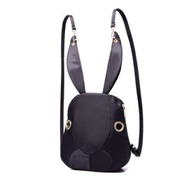 bunny backpacks Coupons - Bunny Backpack 2017 New Nylon Bag Hot Trend mini Purple Backpack
