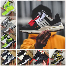 Wholesale Off Lighting - Air Presto Ultra Olympic BR QS off X Mens Running Shoes fashion Mesh Air Presto Sport Sneakers New Fashion Running Ultra Boost trainer