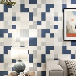 Beibehang Mosaik Moderne Tapeten Für Wände 3 D Luxus TV Hintergrund Papel  De Parede 3D Tapeten Für Schlafzimmer Wohnkultur Roll Gelbes Mosaik Im  Angebot