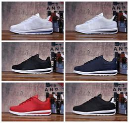 Yin schuhe online-2018 klassische Yin und Yang Männer Frauen Frühling Casual Racer Chaussures Cortez Schuhe Freizeit Netze Schuhe Leder Marke Turnschuhe Größe 36-45