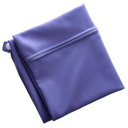 sacchetti di pannolini viola Sconti Borsa per pannolini riutilizzabile lavabile impermeabile con cerniera per Pocket Pocket