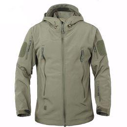 Wholesale Winter Hunting Coats - 2017 Outdoor Waterproof Softshell Jacket Hunting Windproof Ski Coat Hiking Rain Camping Fishing Winter Clothing For Men &Women