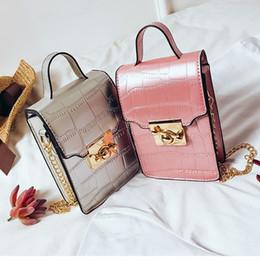 Leather Handbags Mini Cell Phone Bag Women Tote Bags Female Fashion Designer  High Quality Ladies Shoulder Bags Pink 7b4873bd859b7