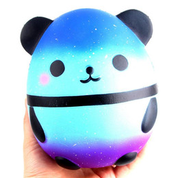 Wholesale Soft Bears - Jumbo Squishy Kawaii Panda Bear Egg Candy Soft Slow Rising Stretchy Squeeze Kid Toys Relieve Stress Bauble Children's Day Gifts