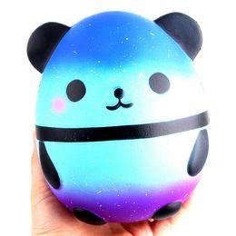 Jumbo Squishy Kawaii Panda Bear Egg Candy Мягкая Медленно Восходящая Эластичная Сжатие Детские Игрушки Снять Стресс Безделушка День Детей Подарки от