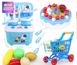 Wholesale hot big girls - China Factory Outlet Hot sale Fun Play House Toys Simulation Kitchen Boys Girls Cookware Kitchenware Toy Wholesale