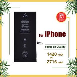 Apfel iphone 6plus online-Batterie für apple iphone 4 s 5 g 5 s 5c 6 g 6 s 6 plus 7 g 7 8 plus x batterien ersatz starke flex 0 zyklus